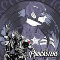 Captain America The Winter Soldier - Podcasters Assemble