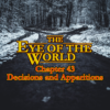 1 – 43 – Decisions and Apparitions