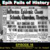 E16 – Medical Fails: *Coronavirus Edition* (with Dr. Robert Bednarz!)