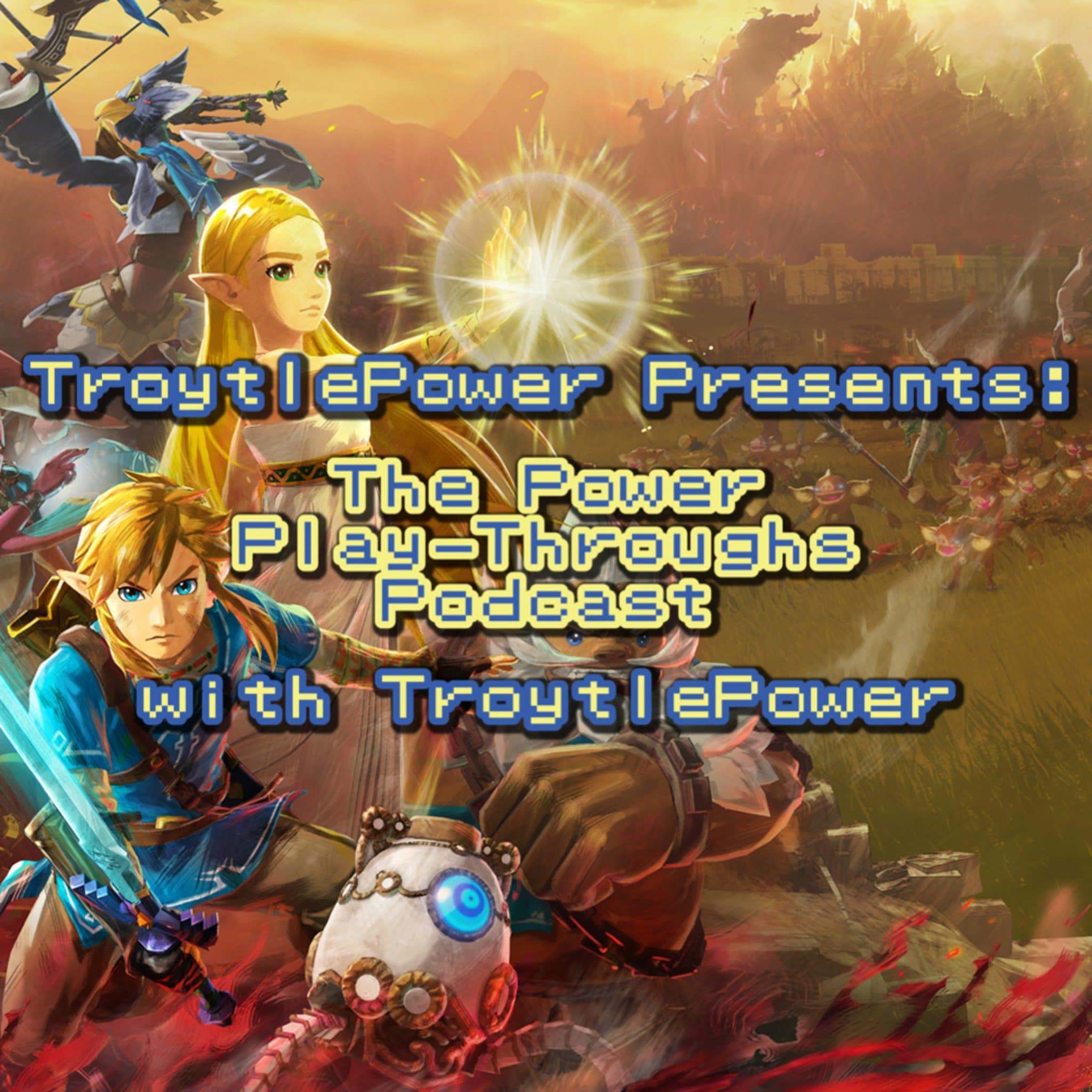 Hyrule Warriors Age Of Calamity Demo Nintendo Switch First Impressions Troytlepower Presents The Power Play Throughs Podcast With Troytlepower