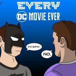 Every DC Movie Ever